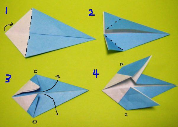 ハート 折り紙 鳥 折り紙 簡単 : divulgando.net