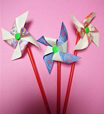 クリスマス 折り紙 折り紙 風車 作り方 : blog.livedoor.jp