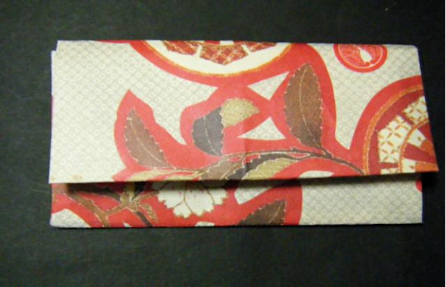 ハート 折り紙:折り紙 お財布 折り方-blog.livedoor.jp