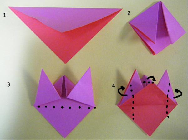 折り 折り紙 節分 折り紙 折り方 : studental.net
