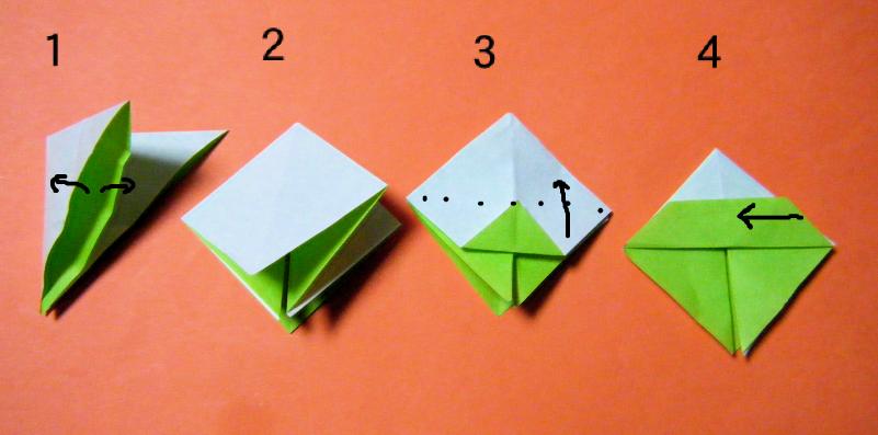 ハート 折り紙 : 折り紙 葉 折り方 : divulgando.net