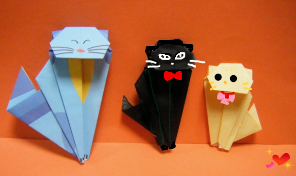 折り紙 雪だるま》 : 折り紙 雪だるまの折り方 : すべての折り紙