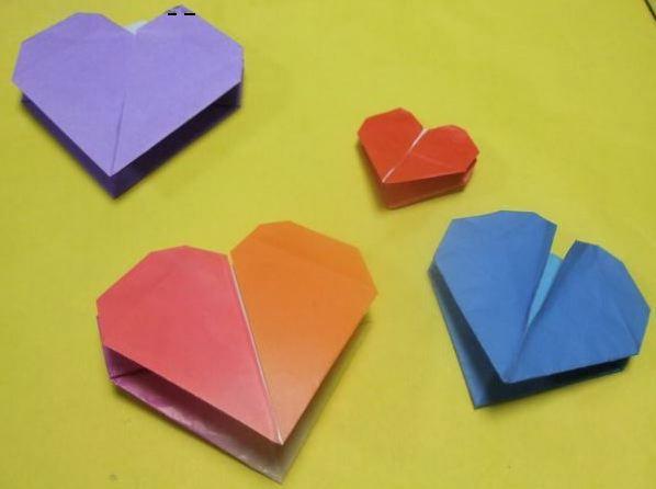 折り 折り紙 : バレンタイン 折り紙 : blog.livedoor.jp