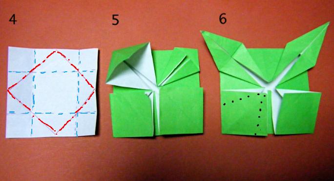 クリスマス 折り紙 折り紙バラの葉折り方 : divulgando.net