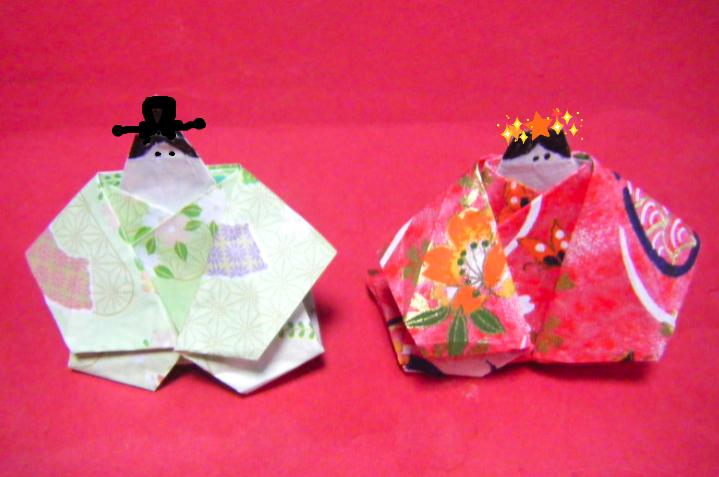 : 折り紙 雛人形 : blog.livedoor.jp