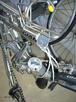 自転車トラブル フレーム破断 ...