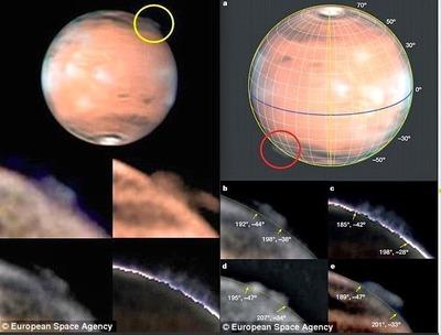 火星の謎の巨大雲003