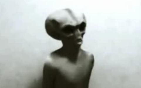 1982年捕獲された宇宙人画像