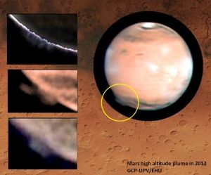 火星の謎の巨大雲002