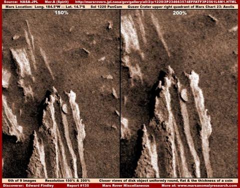 火星の建造物や生命写真11