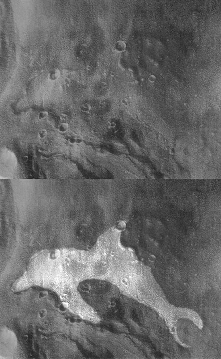 火星の建造物や生命写真14
