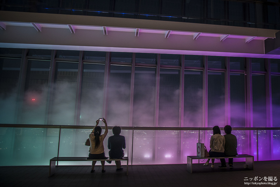 ミッドランドスクエア スカイプロムナードのイルミネーション