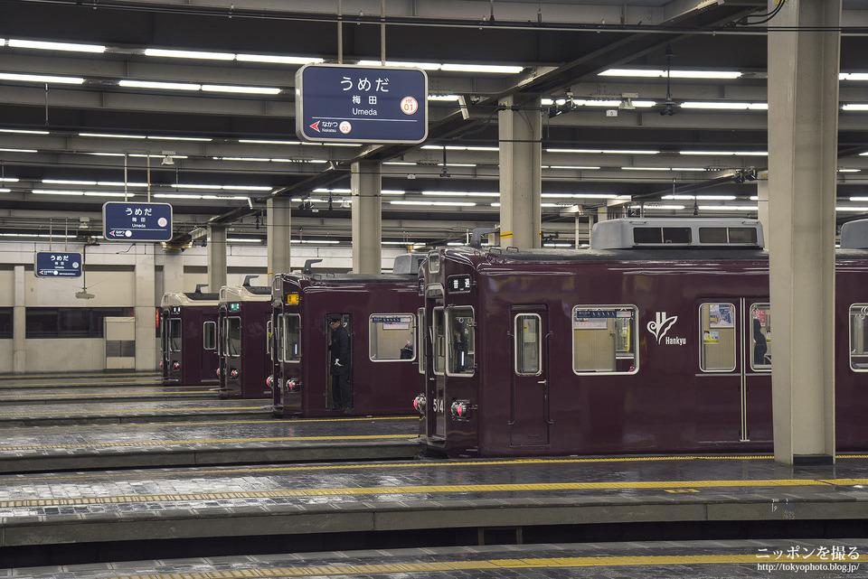 大阪の写真撮影スポット_阪急梅田駅
