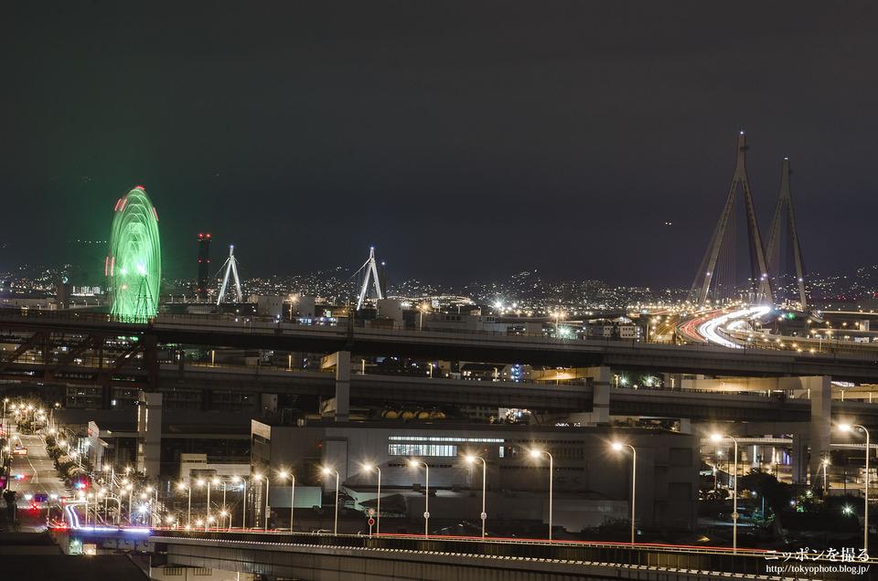 大阪の写真撮影スポット_なみはや大橋