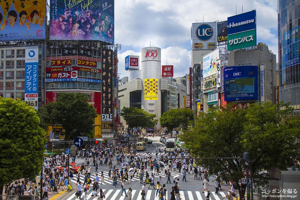 16_東京_渋谷区_スクランブル交差点
