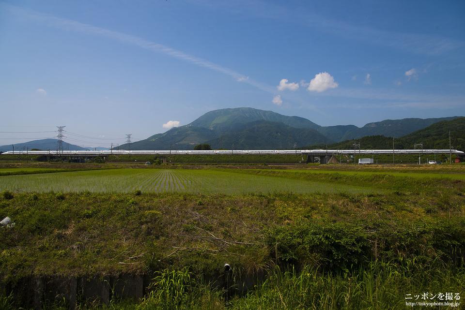 伊吹山と新幹線_0143