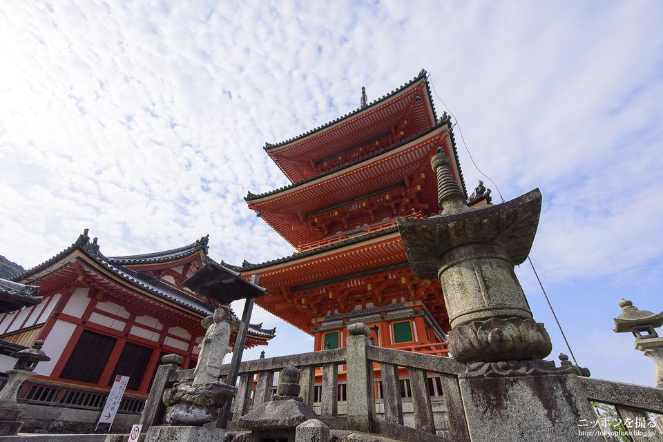 清水寺_日本一高い三重塔はこちらです