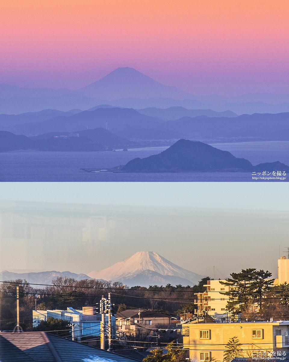 富士山比較