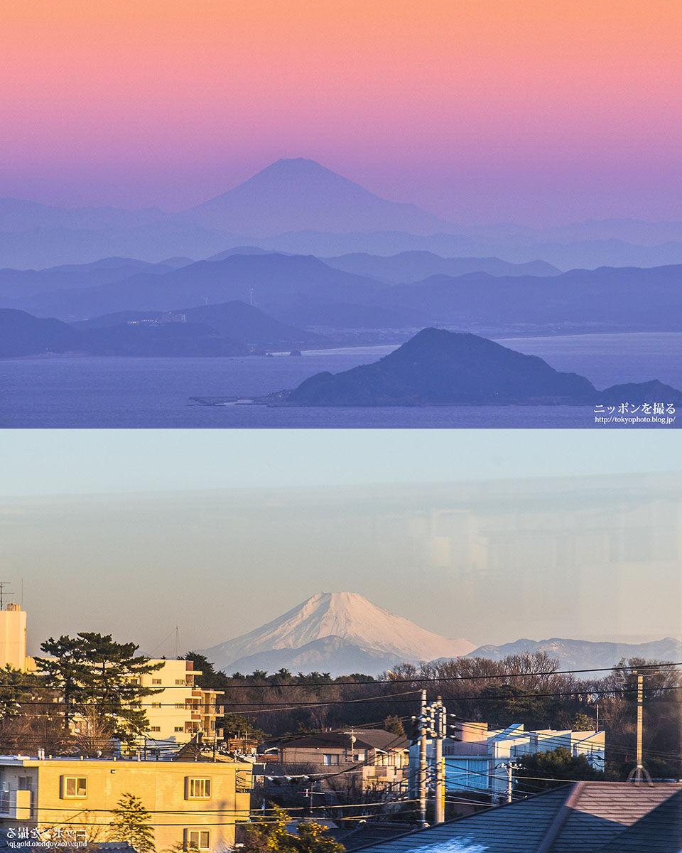 富士山比較2