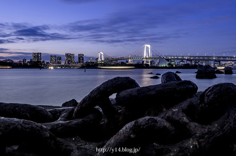 東京都港区・お台場海浜公園
