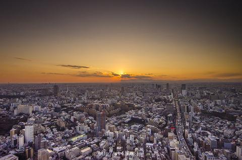 【六本木 六本木ヒルズ展望台】Orange Tokyo
