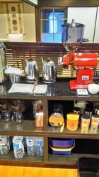 コーヒー作業台