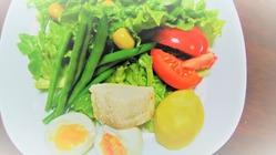 サラダのランチ02