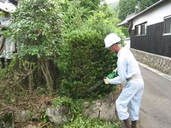 庭木トリマー