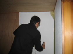 壁紙貼り01