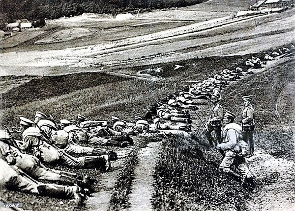 ((((R満州戦線で活動中のロシア軍