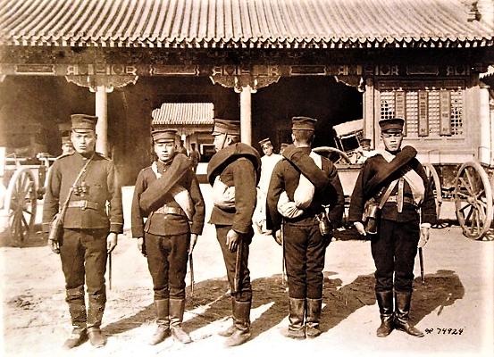 ((中国救援隊に勤務する日本軍砲兵隊-SC-