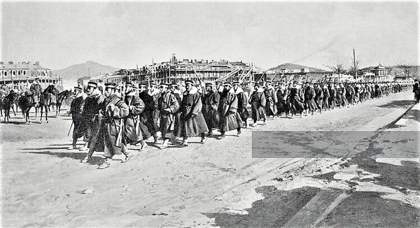 (((順入城乃木連隊1905年4月2日