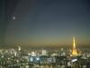 041116moon 東京タワーと月
