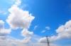100717 雲もくもく夏 (ポップアート)