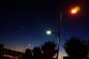 1019 三日月と街灯 〜road to the moon