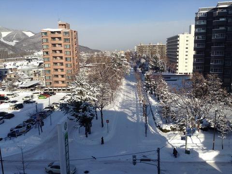 161216 6階から雪景色