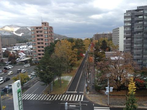 161021 雪景色from6階