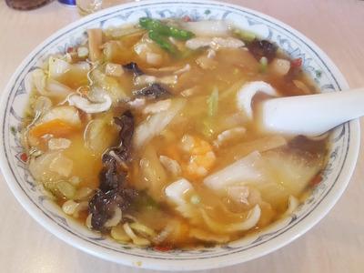 華風伝の「五目あんかけ麺」