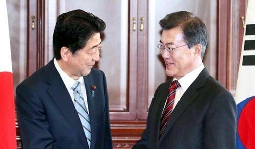 日韓首脳会談