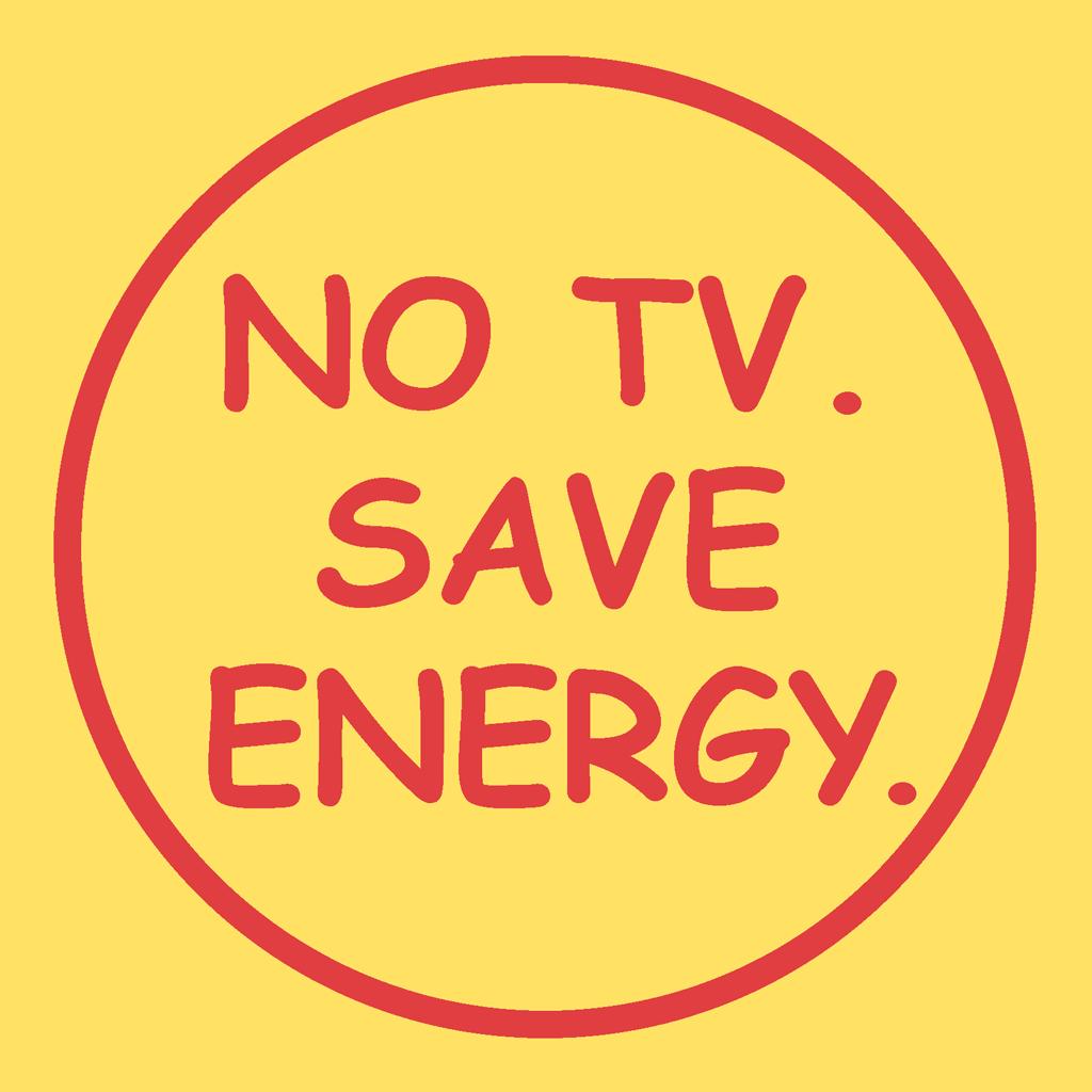 テレビを観ない節電