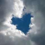 雲のハート