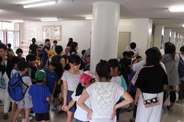 ぶーちゃんブログ:大須小学校で...