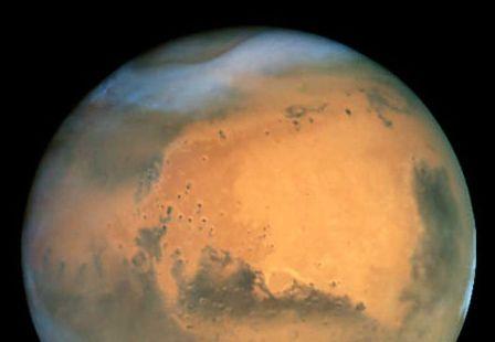 火星の水画像