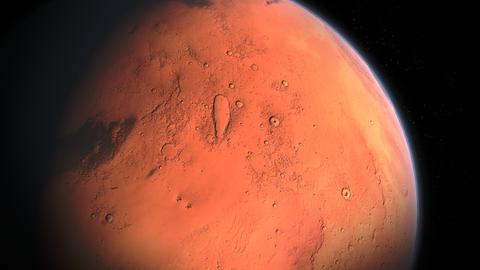 【衝撃】火星で奇妙な「地下基地への入り口」が発見されるwwww