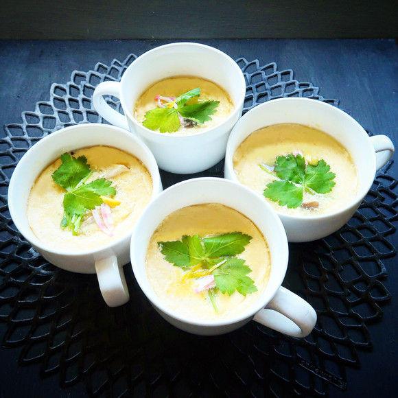 レンジでふわっとろな茶碗蒸しの作り方【ネトメシ】