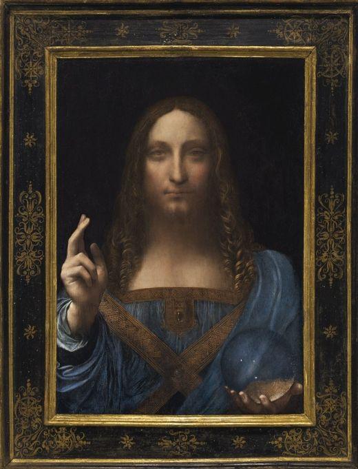 最高額の507億円で落札されたダ・ヴィンチの絵画が修正されていることが判明 明らかに違い関係者困惑