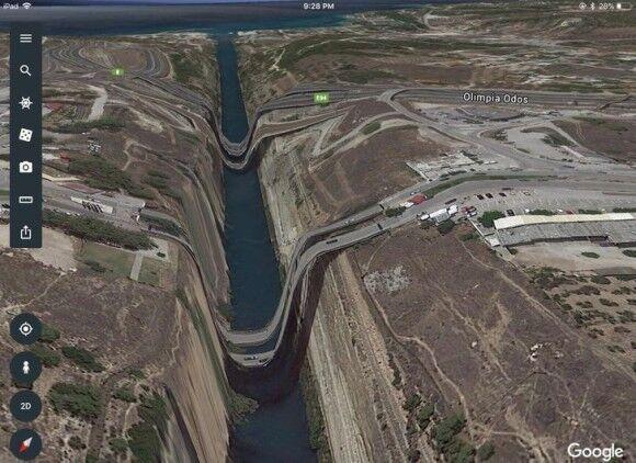 グーグルマップで発見された驚きの珍百景