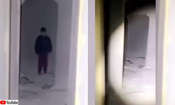 ヨルダンの廃墟で撮影された映像にくっきり映る少年の幽霊らしきもの