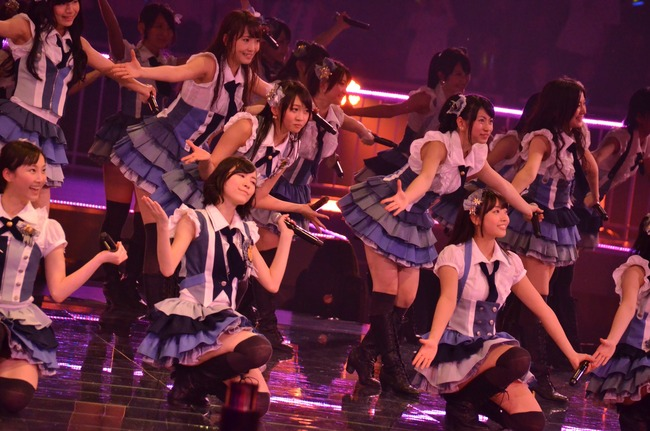 SKE48幻の名曲「初恋の踏切」がついに披露される(日本武道館)
