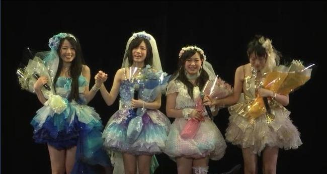SKE48矢神久美、桑原みずき、平松可奈子、高田志織卒業公演まとめ SKEを支え続けた1期生4名の最後のパフォーマンスを目に焼き付けよう Part2